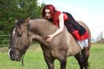 horse lady stock 4