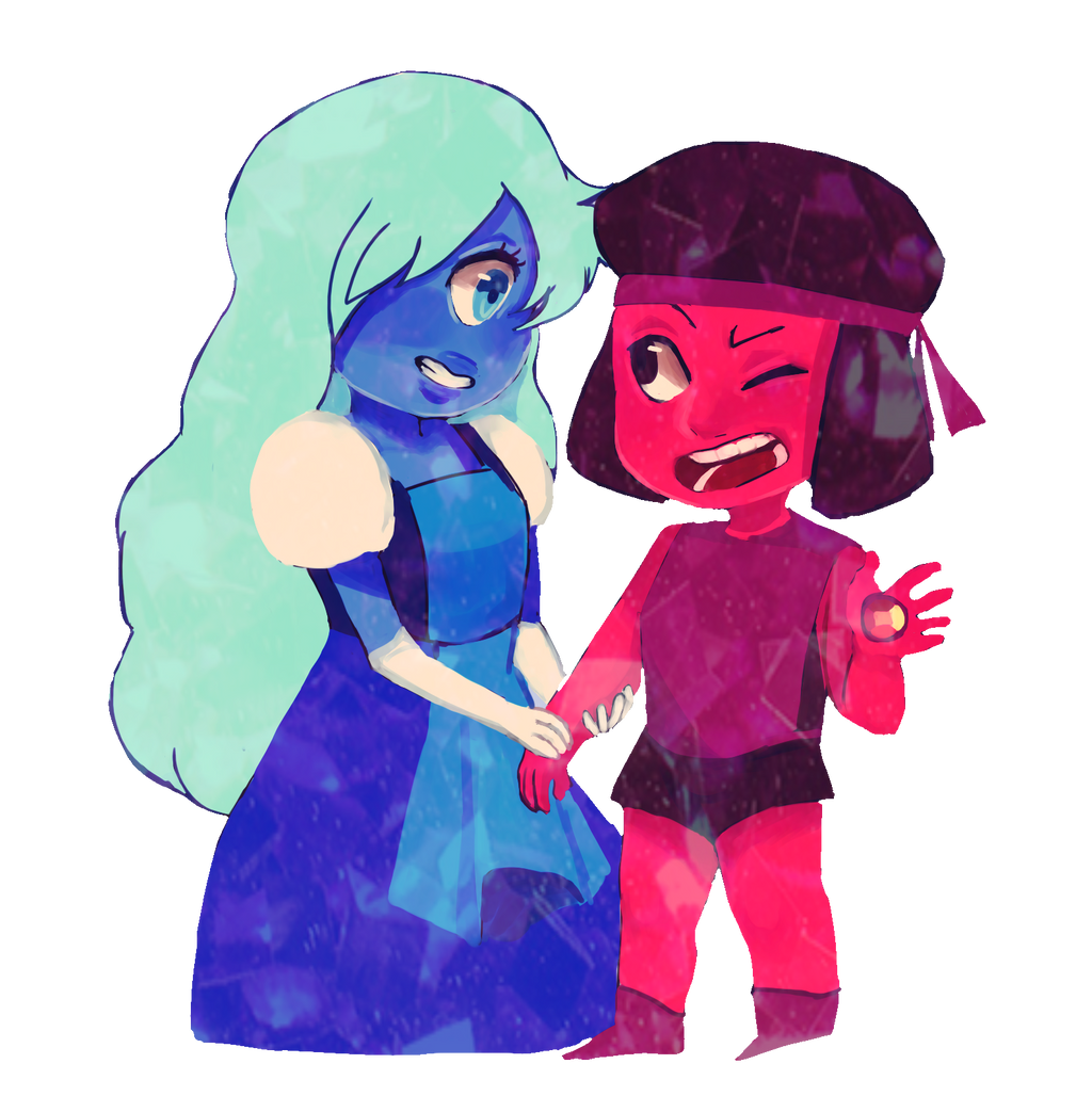 Steven universe sapphire and ruby by jocsaii on deviantart - Ruby and sapphire su ...
