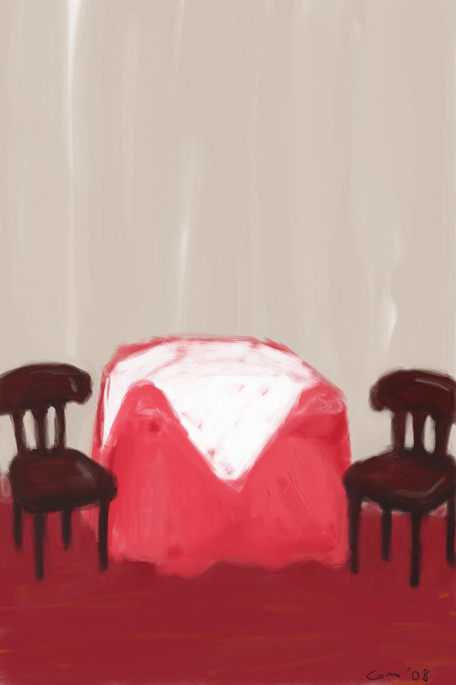 Mesa para dos by Abramacabra