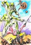 John Carter of Mars sketch by Doodlemark
