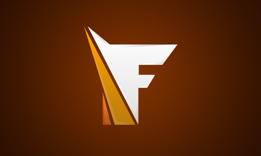 F Logo For Sale By Art By Jrh