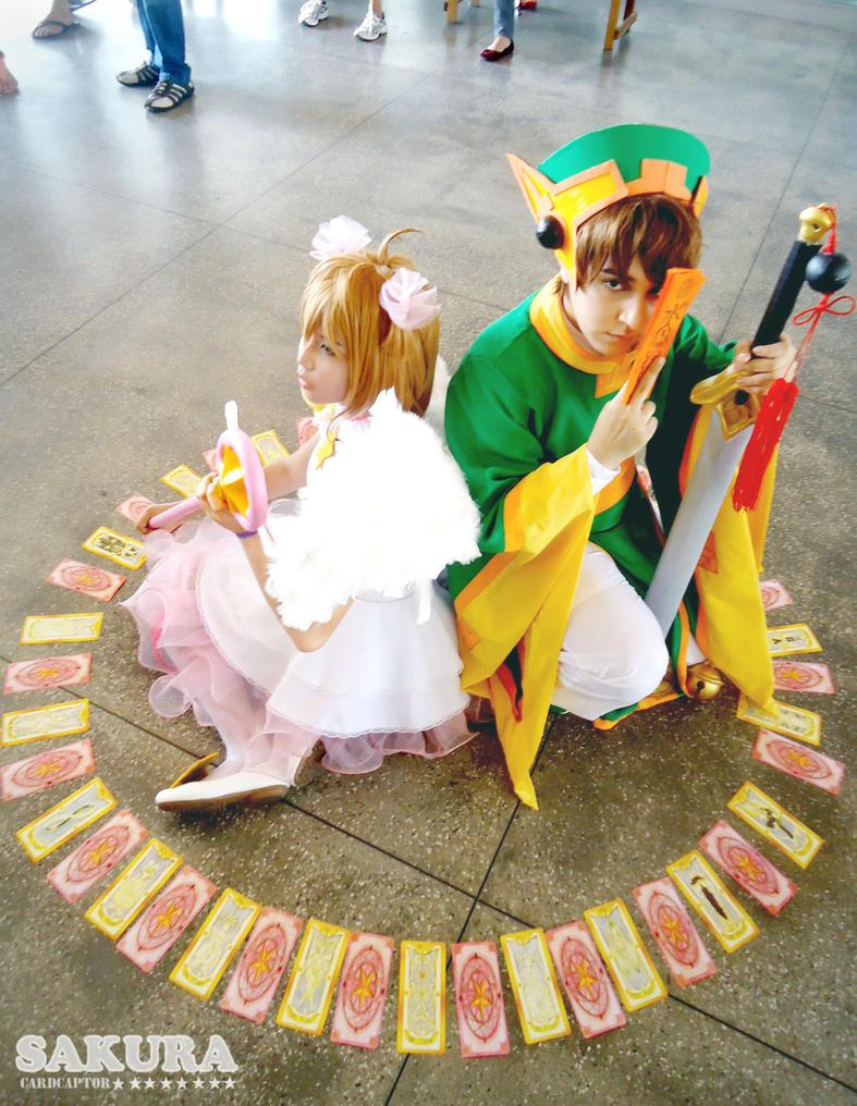 Clow Cards and Sakura Cards by TiHikari