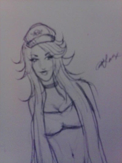 Poison sketch by whiteecho