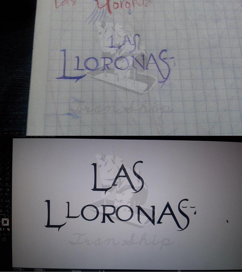 Las Lloronas: Logo by Tranship