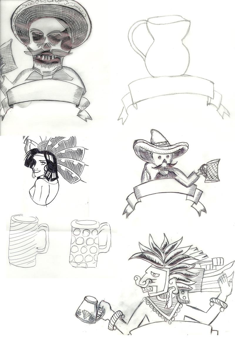 Pulcatapp: Bocetos by Tranship