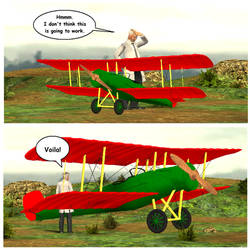Biplane Prop for The Movies by lefty-2000