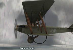 Green Screen Scenes for JN4 Vintage Airplane (WIP)