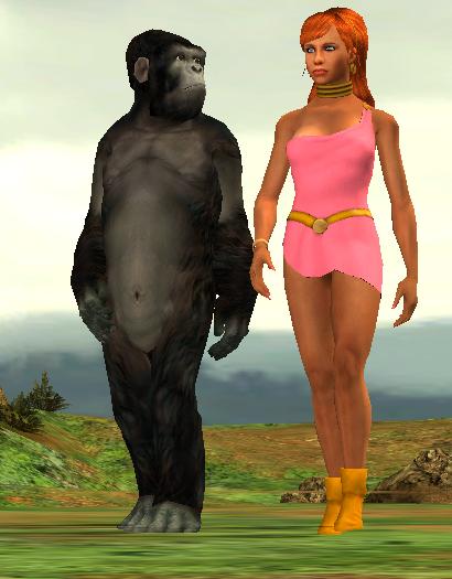 Grodd Giganta Walking And Talk by lefty-2000
