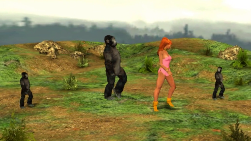 Giganta And Gorillas by lefty-2000