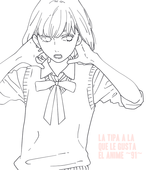 Lineart Yuyuka Nekota by 9au1ina on DeviantArt