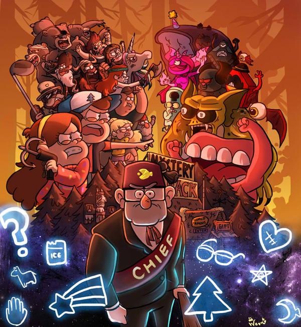 Take Back The Falls (game) | Gravity Falls Wiki | Fandom