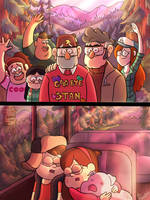 Goodbye Gravity Falls by wernwern