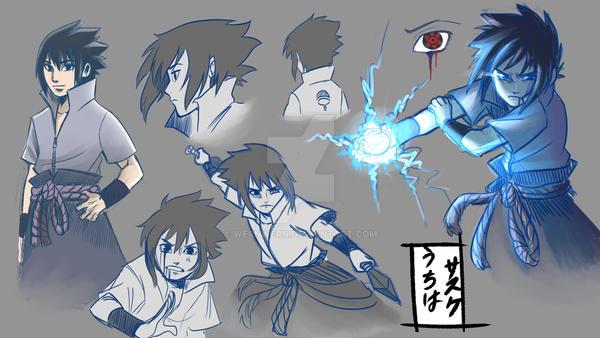 Sasuke sketches