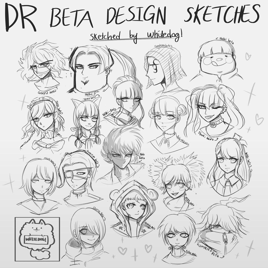 Danganronpa Beta Sketches By Whitedog121 On Deviantart Poproś o stworzenie produktu na zamówienie. danganronpa beta sketches by