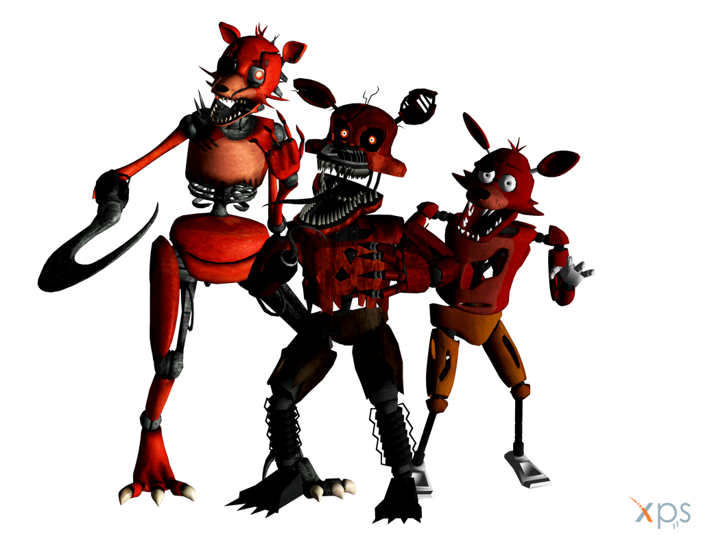 Xna Fnaf Foxy The Pirates By Xna Focus On Deviantart