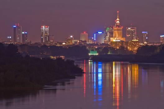 Warsaw and Vistula