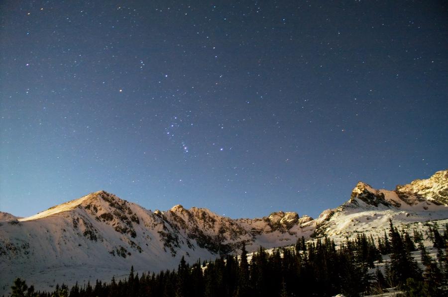 Tatra mounatins at night 2 by Dunadan-from-Bag-End