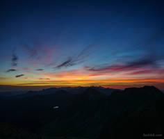Sunrise in Western Tatras
