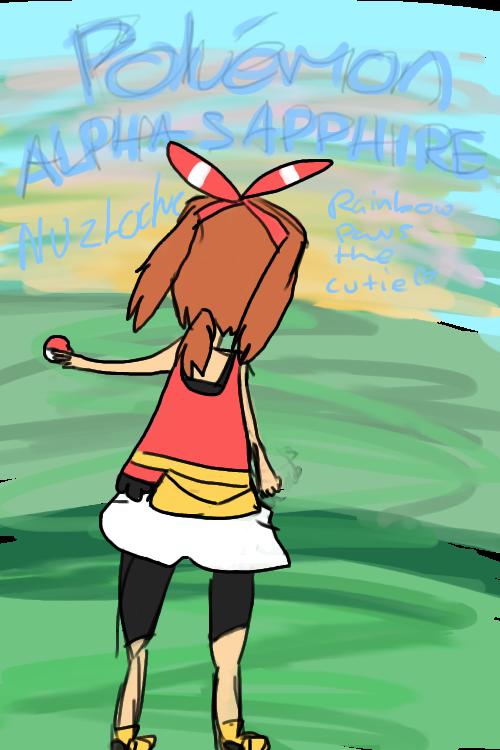 Alpha Sapphire Nuzlocke : Enter! by Rainbowpawsthecutie