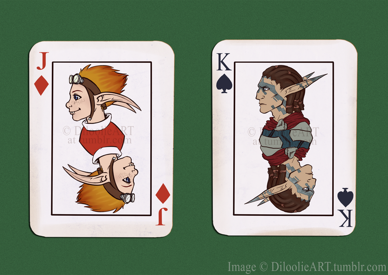 Daxter and Torn cards by Dalal-N