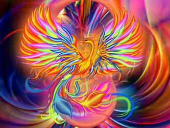 Bird of happiness by lilok-lilok