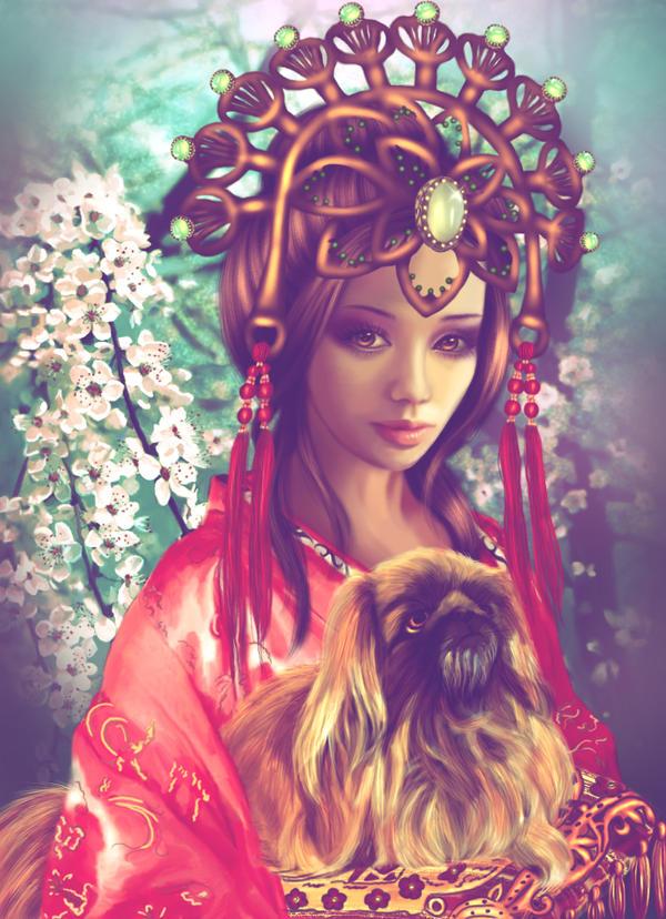 Princess Wencheng by lilok-lilok