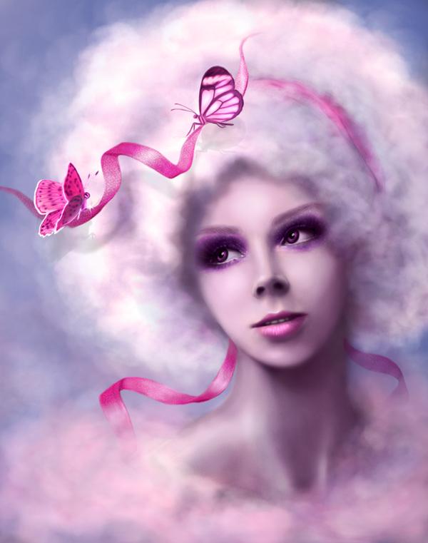 Pink Cloud by lilok-lilok