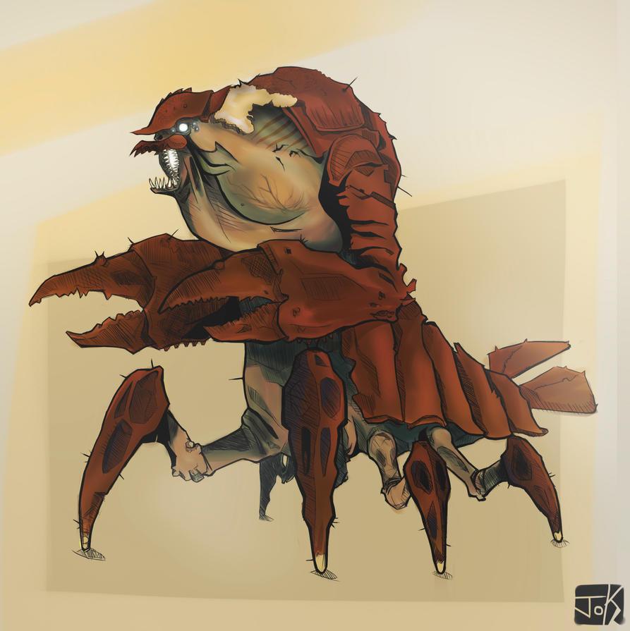 Kraken de rio by GuilleJoK