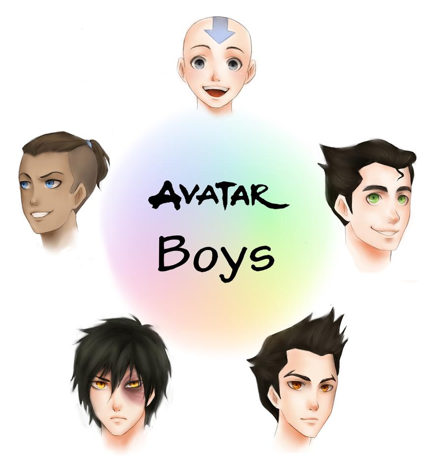 Boy Avatar: Avatar Boys By AireensColor On DeviantArt