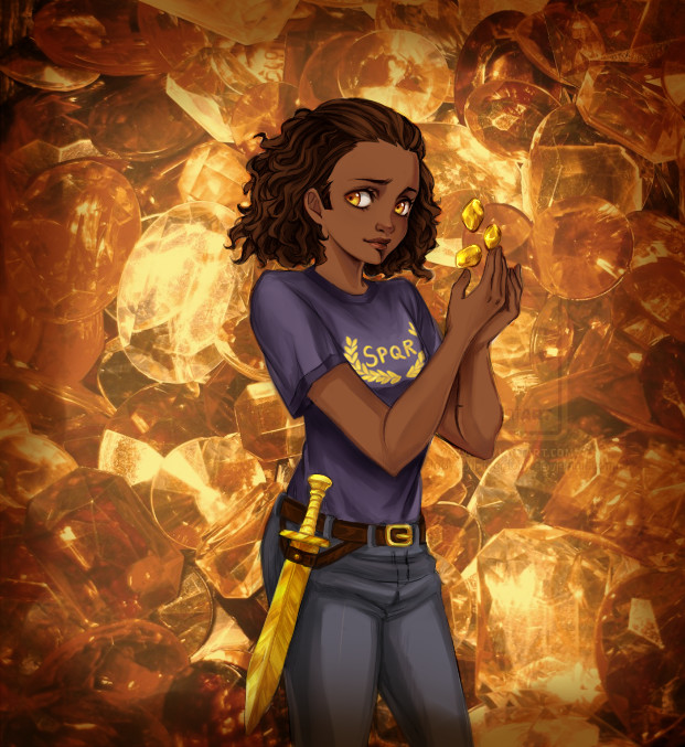 Hazel Levesque by AireensColor