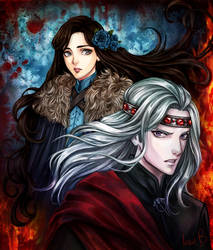 Ice and Fire by AireensColor