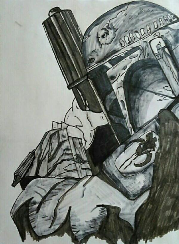 bounty Hunter by DefiantAnime