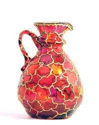 Small Pitcher Vase by ArtByOlia