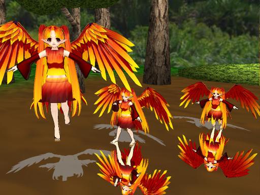 MOTM: Phoenix by Linkamajora14