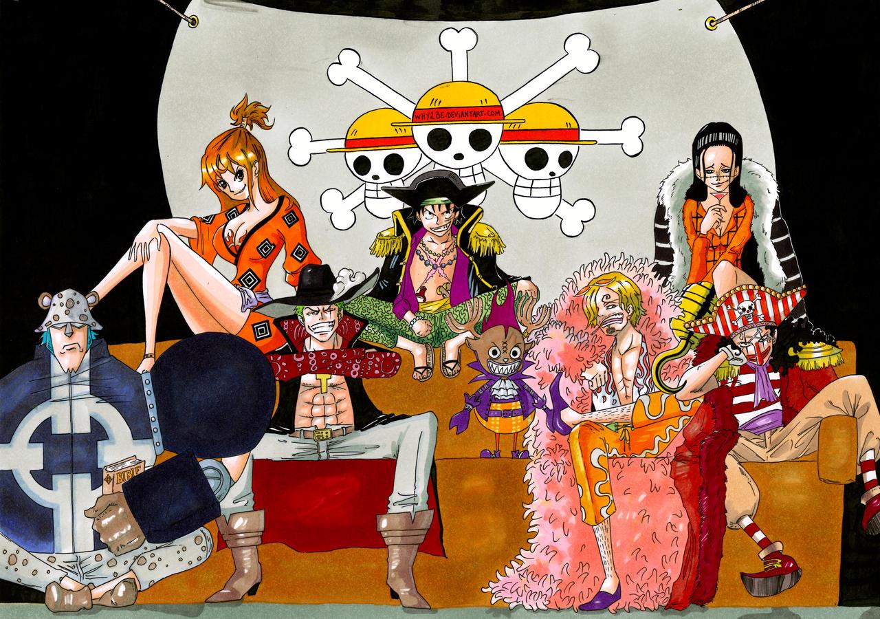 Pirates au Chapeau de Paille on OnePiece-Fr - DeviantArt