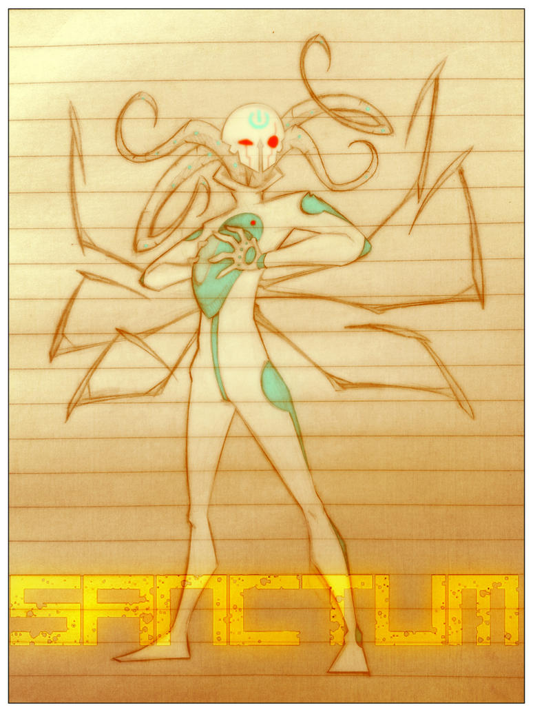 OC Al Sanctum unmask by r3v3rend