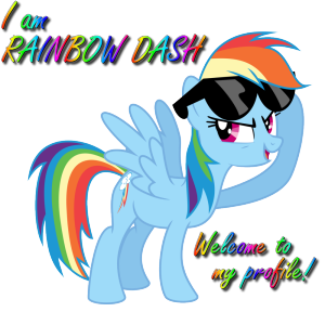 Welcome to Rainbow Dashe's Page! by xXRainbowDash-MLP
