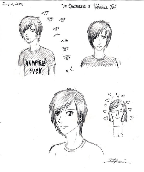 Vladimir Tod...first sketches by MangaGirl12