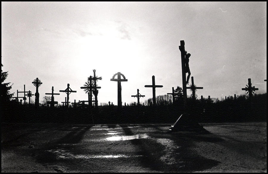 Hill Of Crosses VII by Devstopfix