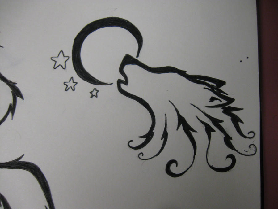 d4e747516 Howling wolf Tattoo by ~Aqua-Frost on deviantART