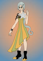 Sailor Star Healer Gown by Jeanette9a