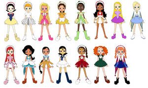 For Fun Magical Princesses by Jeanette9a