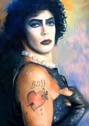 Frank N. Furter by Lucival