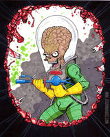 Mars Attacks! by THEjesusmarquez