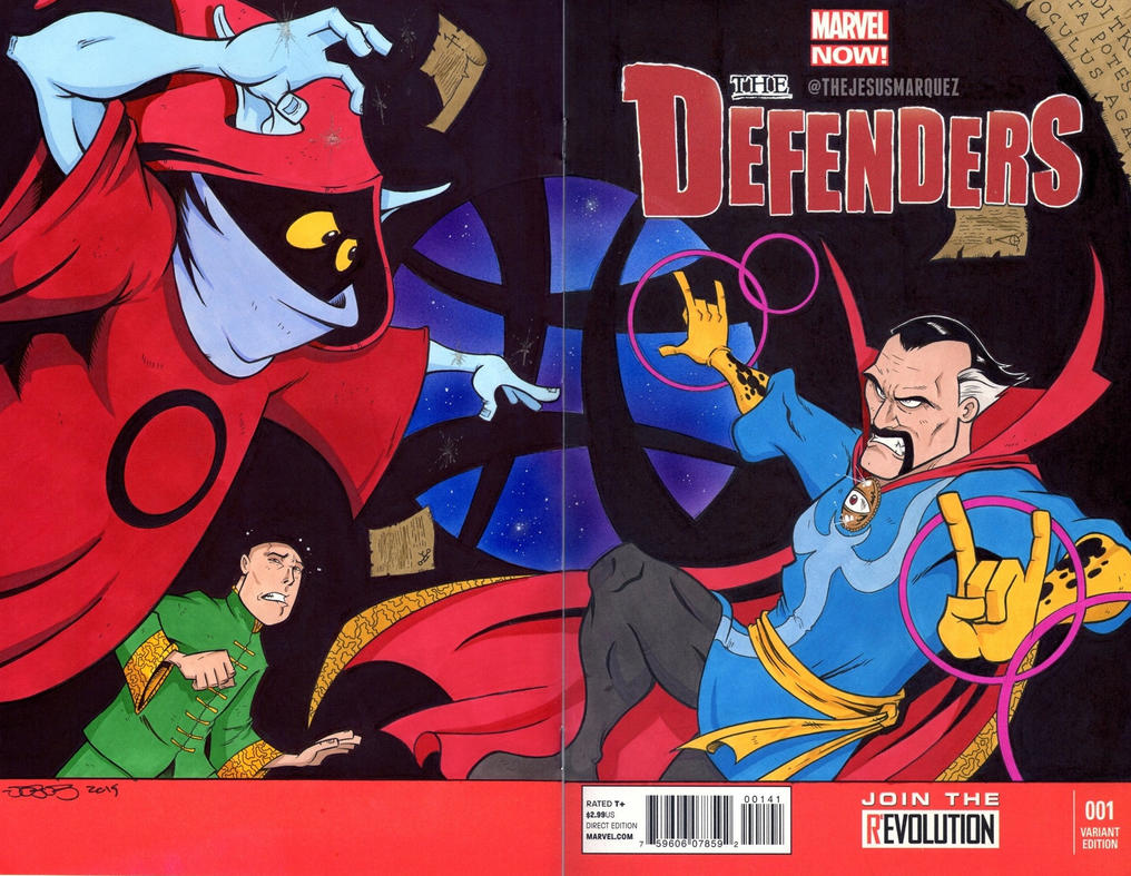 Defenders Sketch Cover by THEjesusmarquez