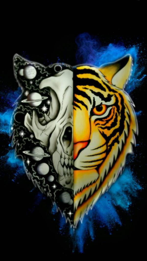 Tiger wallpaper  by CosmicDarK