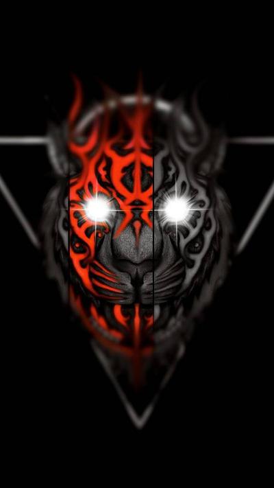 Red Tiger by CosmicDarK