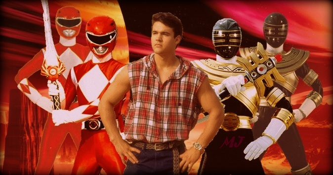 Austin St John Red Power Ranger Gold Ranger By Moisessala On Deviantart