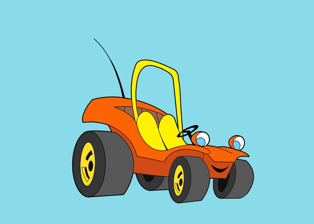 todos desenhos 80 speed buggy