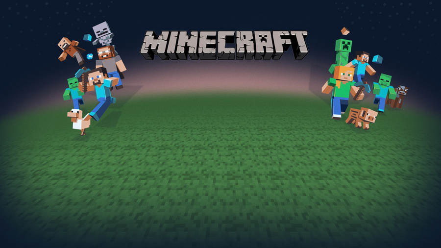 awesome minecraft wallpaper full hd by superreddevil on